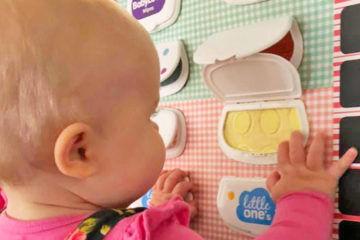 DIY baby sensory box