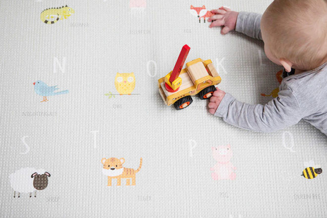 Bubba Mat waterproof play mat for babies