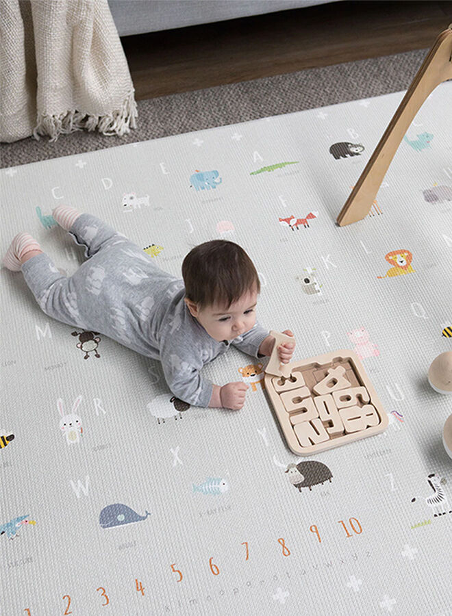 Bubba Mat waterproof padded play mat Dusky Grey