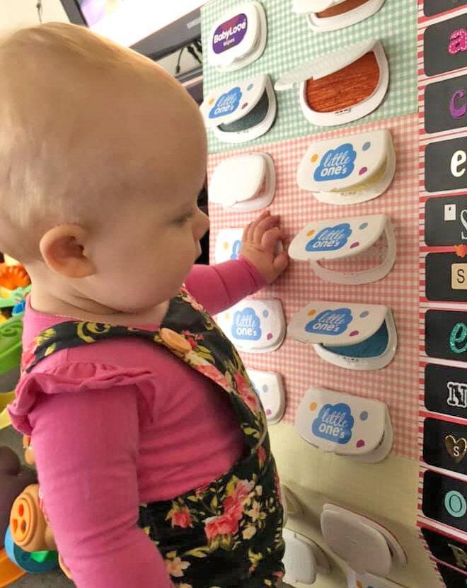 Baby sensory box