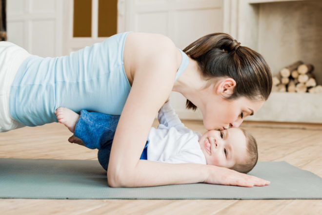 6 exercises to do at home after a c-section | Mum's Grapevine