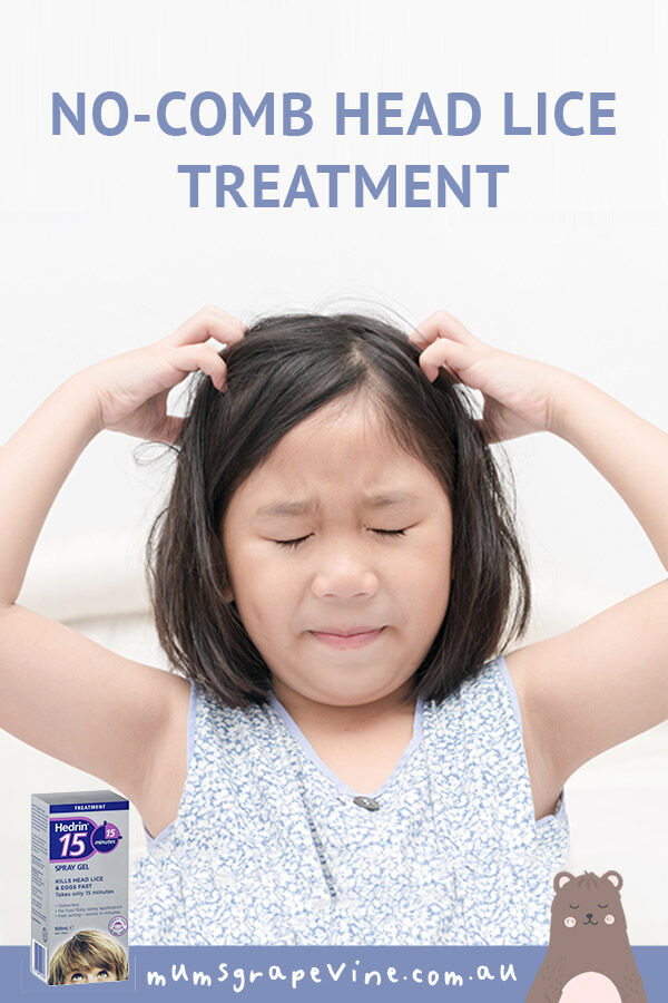 Hedrin No-combing headlice treatment