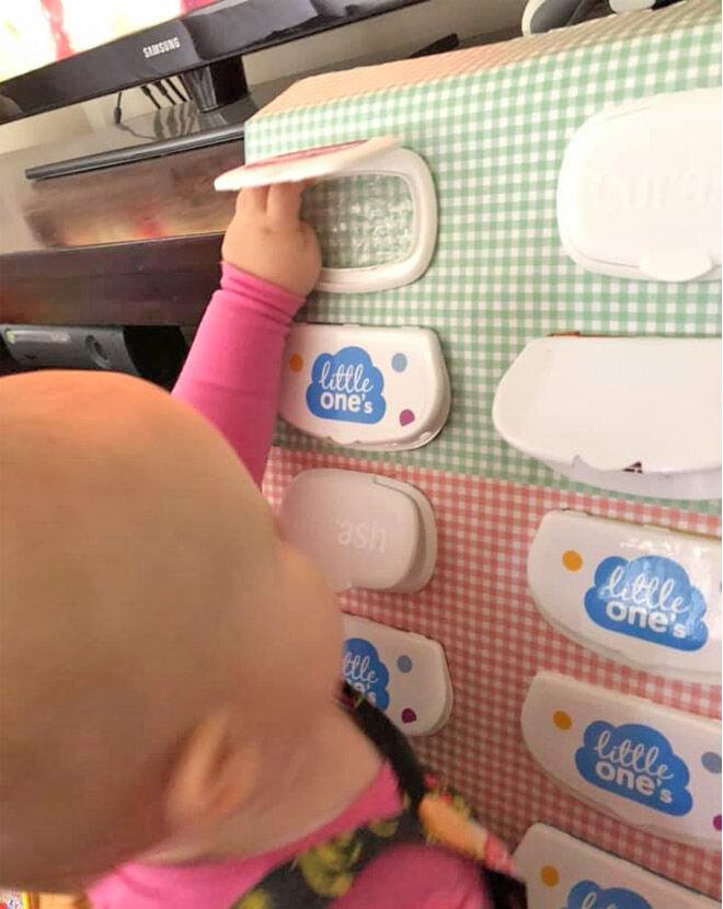 Mum Tip Diy Sensory Box For Baby Mum S Grapevine
