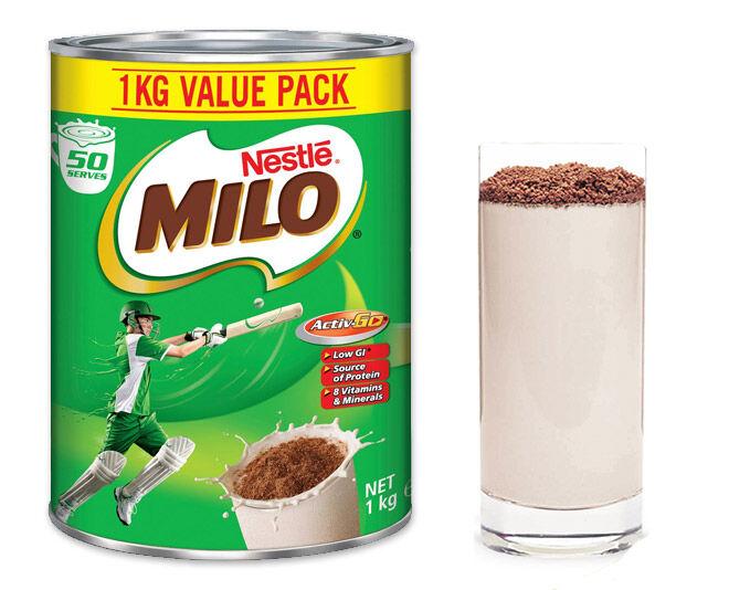 Milo for boosting breastmilk supply