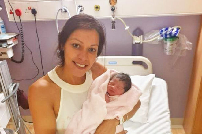 Mum gives birth during Pink concert