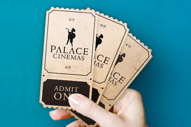 Cheap movie tickets at Palace Cinemas