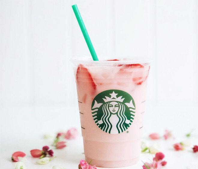Starbucks Pink Drink for breastfeeding mums