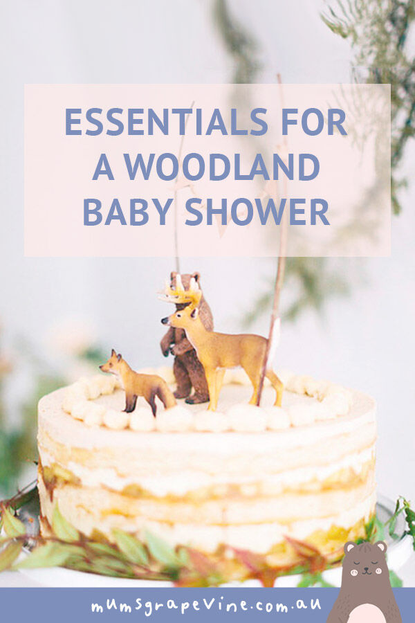 essentials for a woodland baby shower | Mum's Grapevine
