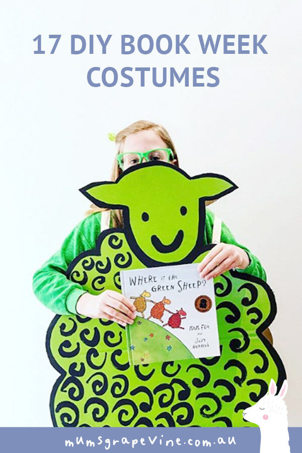 17 DIY book week costume ideas | Mum's Grapevine