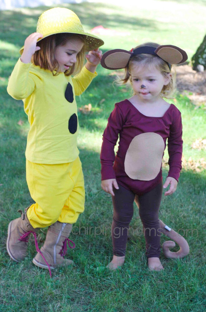 DIY Curious George costume