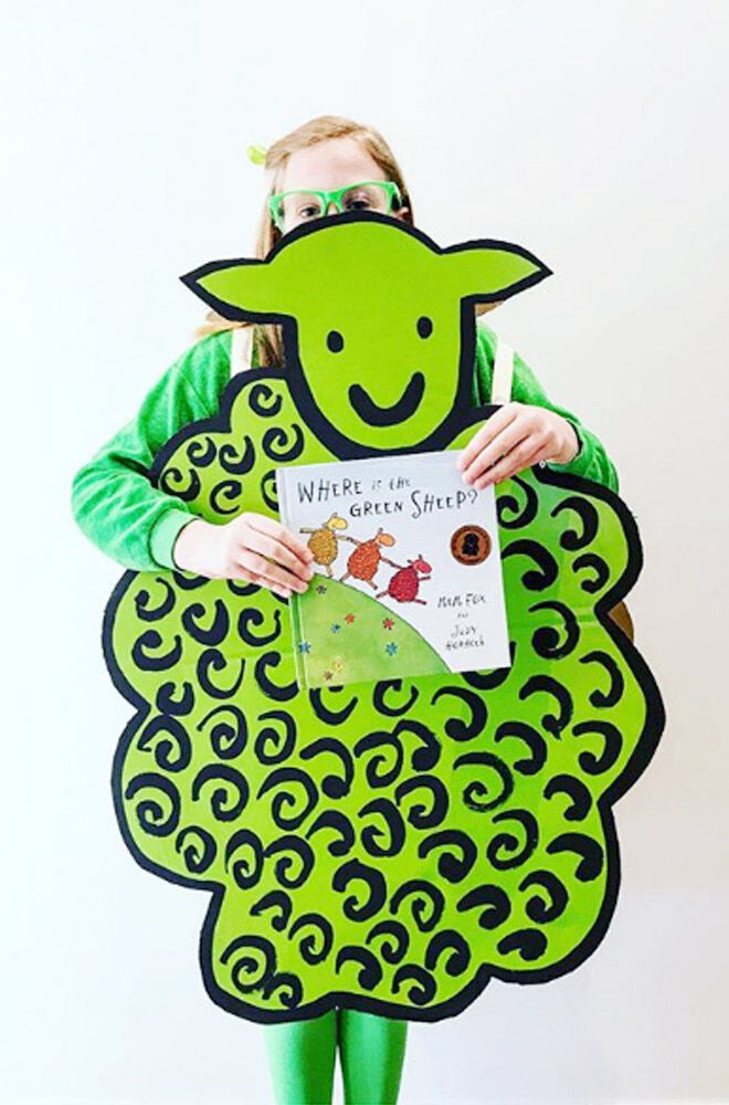 Mem Fox, Where is the Green Sheep costumeCostume