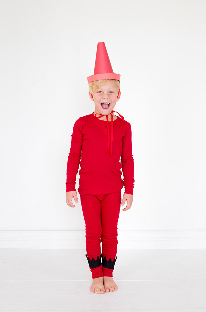 DIY The Day the Crayons Quit costume, Oliver Jeffers