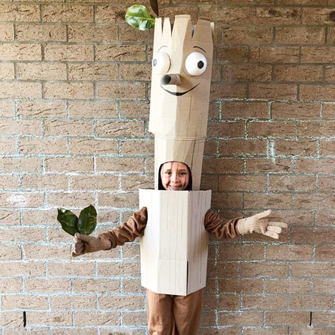 DIY Stick Man costume, Julia Donaldson
