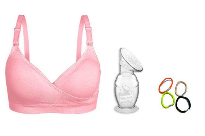 Haakaa Breast Pump hack:, how to keep your Haakaa Breast Pump upright.
