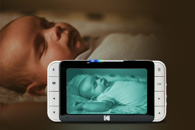Kodak Cherish c525 video baby monitor infrared