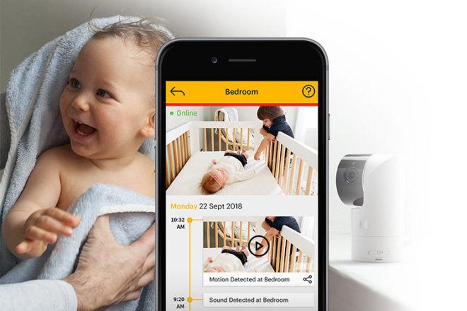 Kodak Cherish c525 video baby monitor smart phone app wifi