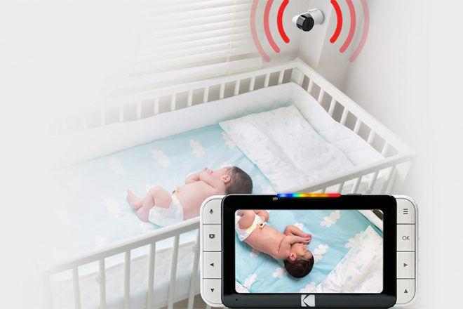 Kodak Cherish c525 video baby monitor wall mount