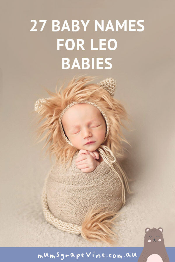 27 baby names for Leo babies