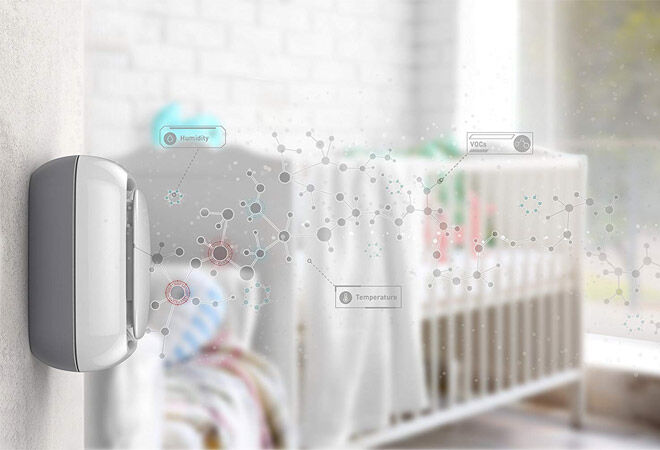Lollipop Baby Monitor Air Quality Sensor