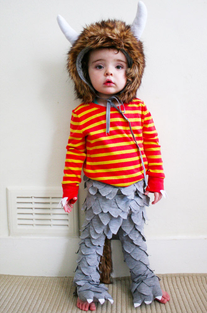 DIY Maurice Sendak costume, Where the Wild Things Are