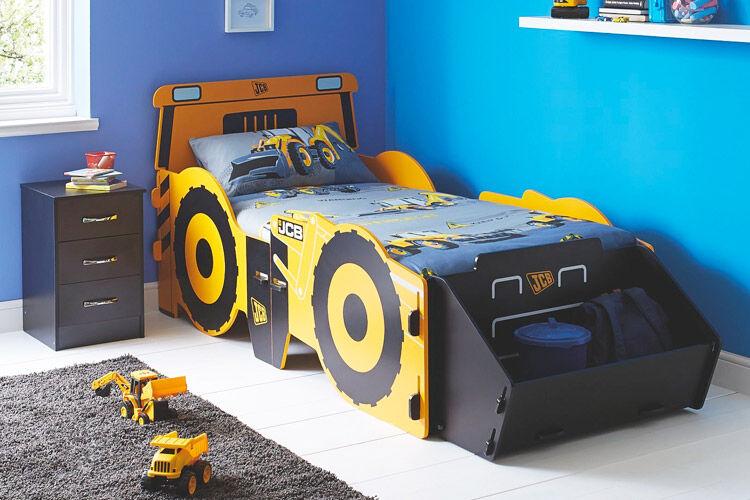 Sleeparoo JCB toddler bed