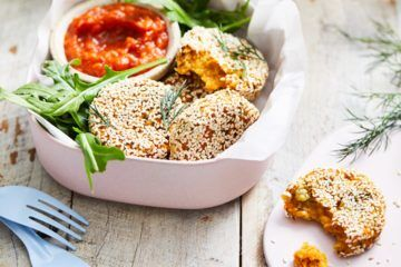 Sweet potato and chickpea patties | Mum's Grapevine