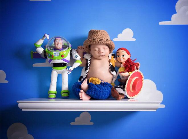 Toy Story newborn photos