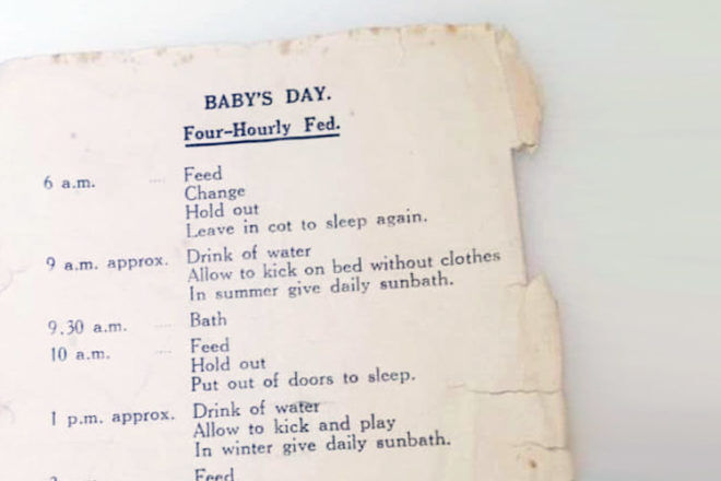 1950s baby routine goes viral