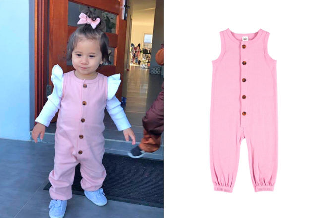 Best and Less bargain baby romper