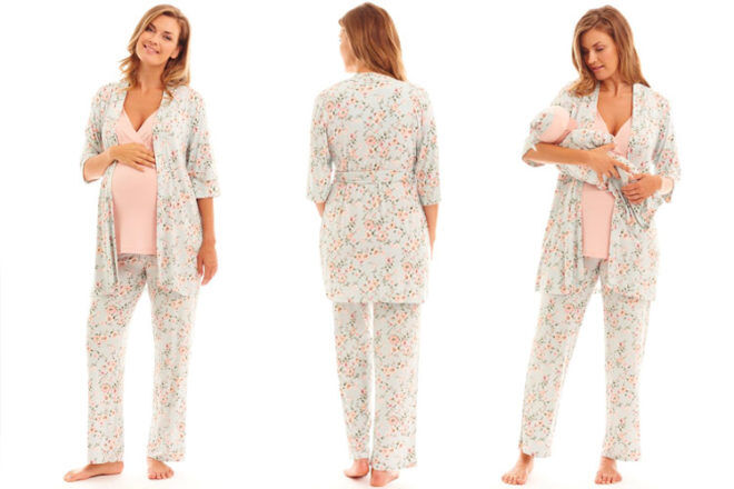 Everly Grey Analise Mommy & Me PJ Set