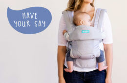 MOBY Baby Carrier product tester wanted