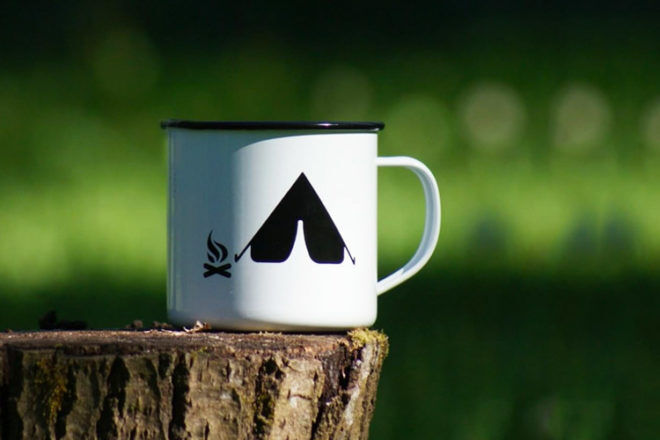 Best Gifts for Dads: Retro Kitchen Camping Mugs