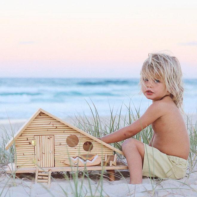 Surf shack dolls house