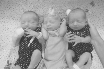 Surprise triplets for mother who thought she had kidney stones | Mum's Grapevine