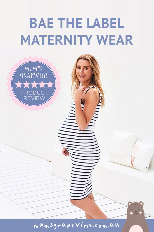 Real mums review BAE the label maternity wear