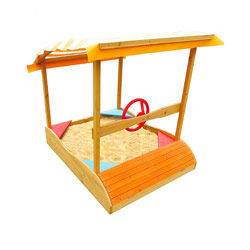 Captain Sandpit with Canopy