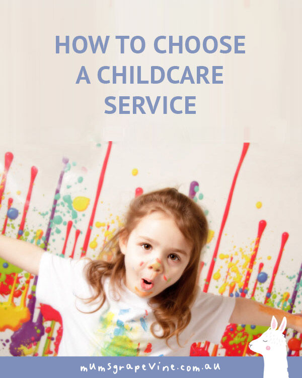 How to choose a childcare service