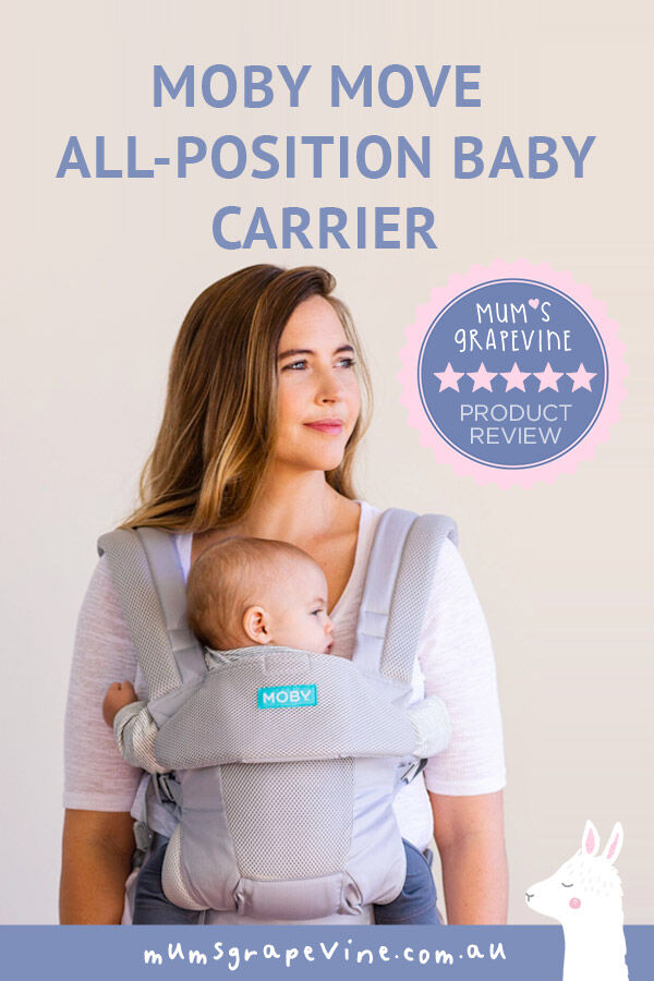We review the MOBY Move All-Position baby carrier