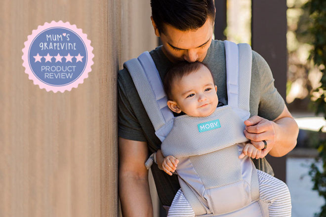 Moby Move All Position Baby Carrier Review   Mum's Grapevine