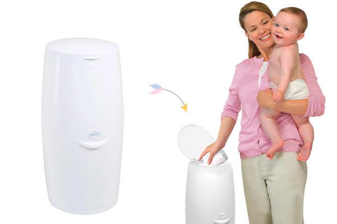Angelcare nappy bin