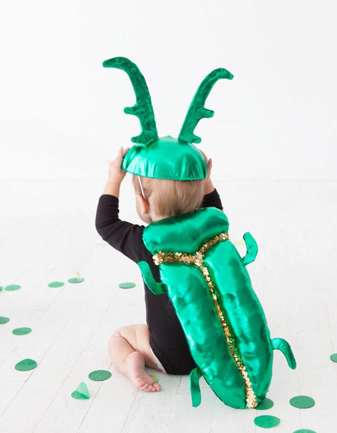 Baby beetle costume