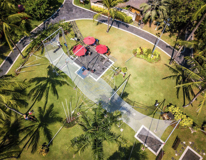 Club Med Bali trapeze