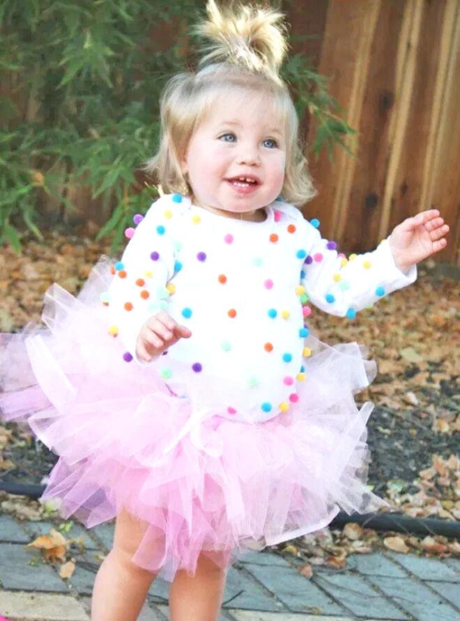 Cupcake toddler costume
