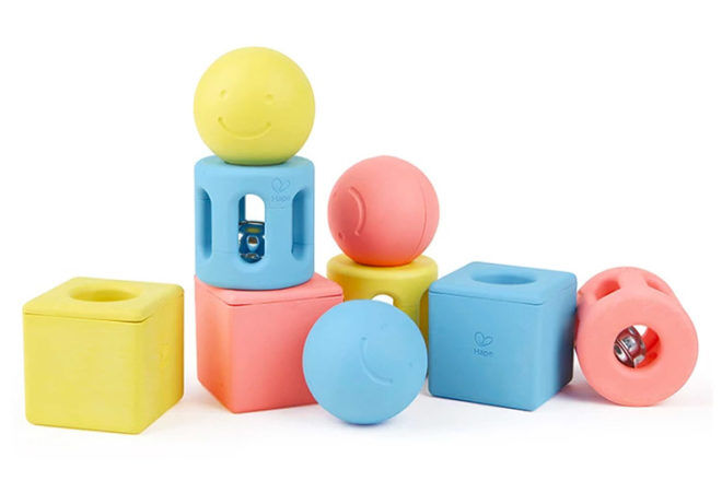 Geometric Rattle Trio, Hape