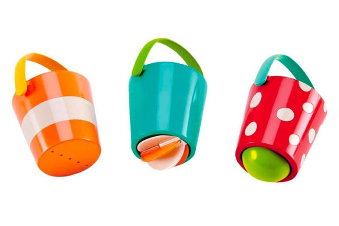 Bucket set for the bath, Hape
