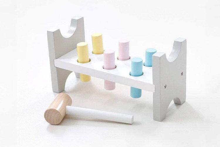 Hipkids Wooden Hammer Set