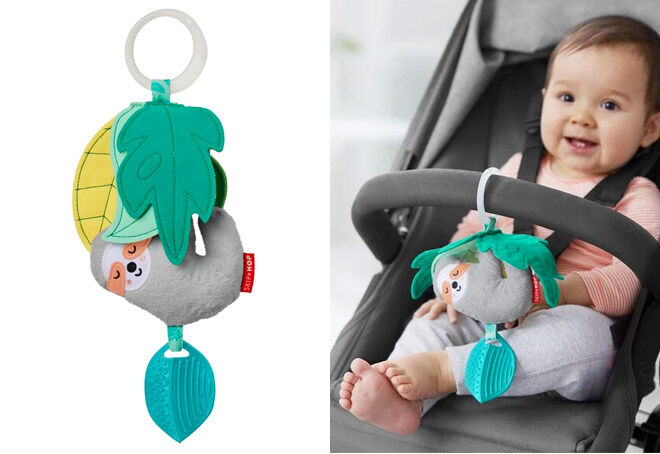 Jitter Sloth Stroller Toy by Skip Hop