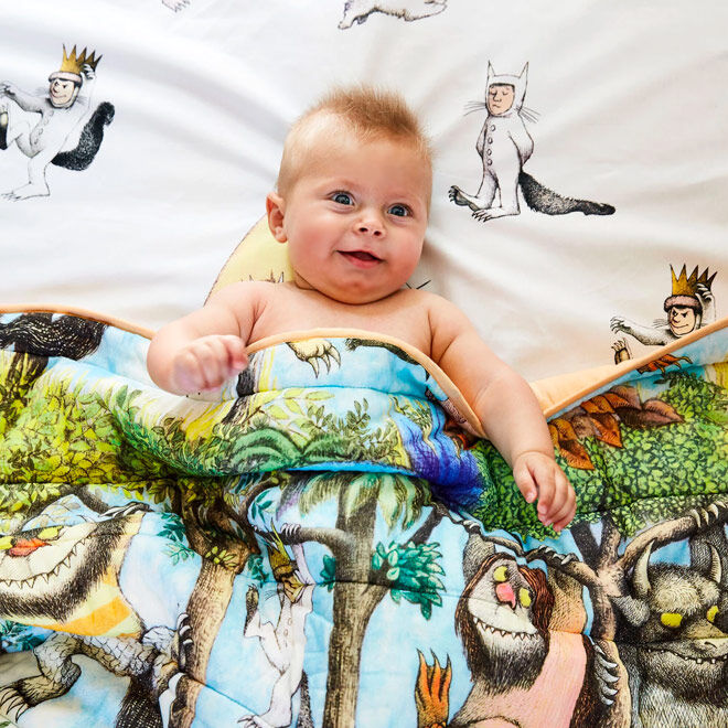 Kip&Co Where the Wild Things Are bedspread