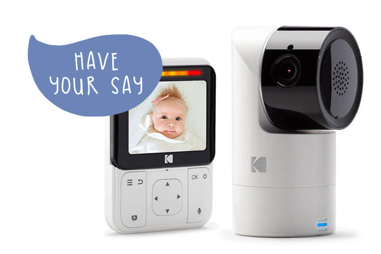 Kodak Cherish C225 Smart baby monitor