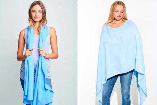 Maternal America nursing scarf